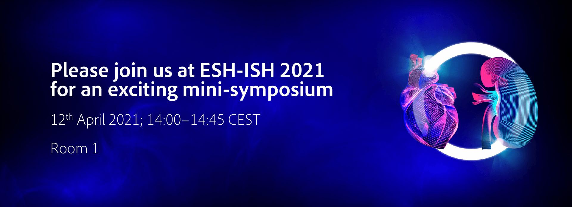 ESH-ISH 2021 - exciting mini-symposium | April 12, 2021