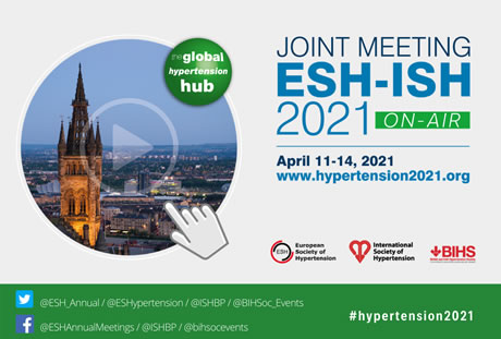 ESH-ISH Joint Meeting : April 11-14, 2021